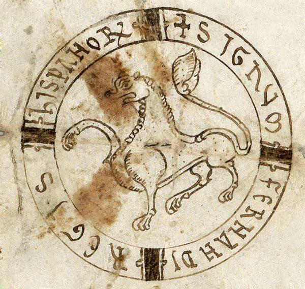 05 00-00-1162 Signo de Fernando II