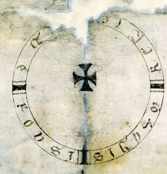 06 21-02-1174 Signo de Alfonso VIII
