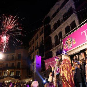 Miles de personas disfrutan de la Cabalgata de los Reyes Magos en un gran fin de fiesta del programa navideño municipal