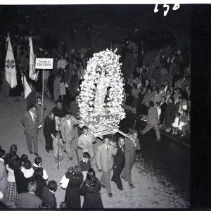 20 - Toledo y su provincia con la Virgen María - La procesión del año 1954