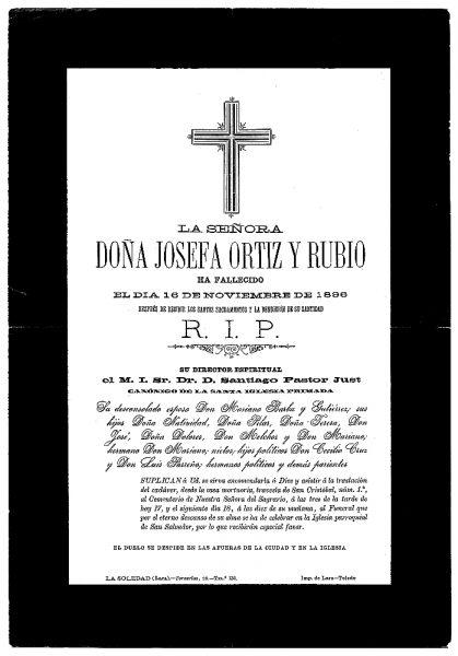 16 16-11-1896 Josefa Ortiz y Rubio
