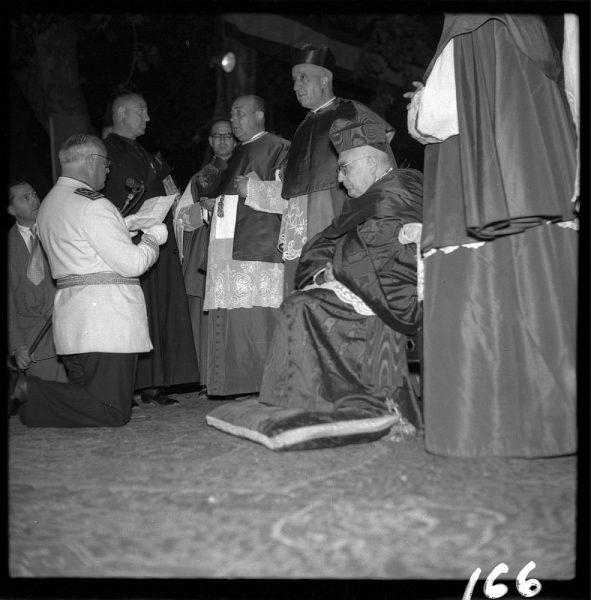 166 - Renovación de la consagración al Corazón Inmaculado de María por parte del Gobernador civil