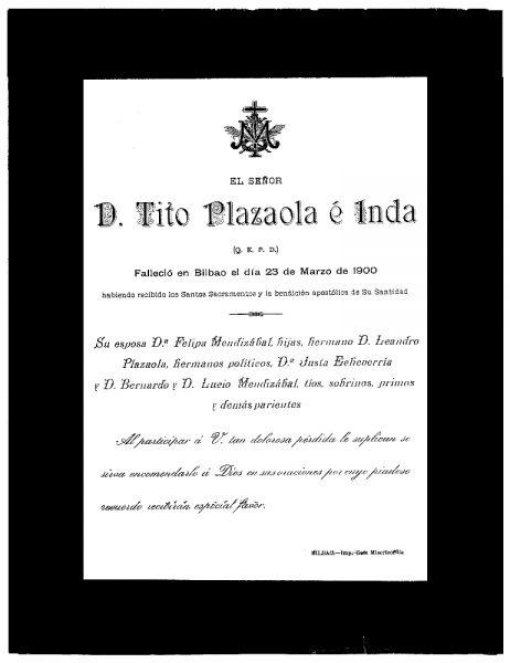 17 23-03-1900 Tito Plazaola e Inda