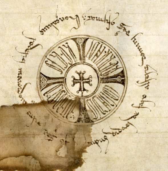 18 24-01-1222 Signo de Fernando III