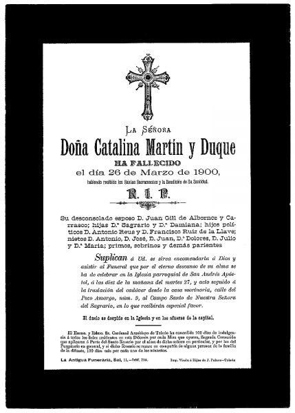 18 26-03-1900 Catalina Martín y Duque