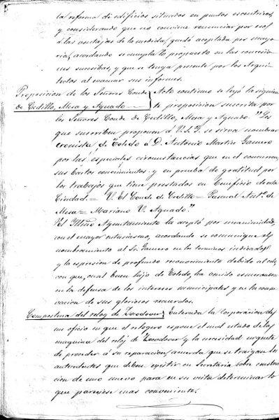 1865-03-10_Propuesta de nombramiento de Martín-Gamero como Cronista de Toledo