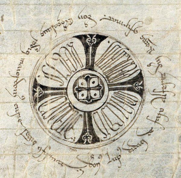 19 25-01-1222 Signo de Fernando III