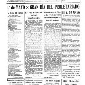1926_El Proletario de 1 de mayo de 1926