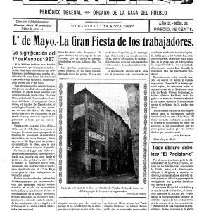 1927_El Proletario de 1 de mayo de 1927