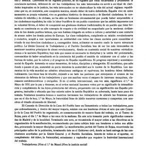 1931_Manifiesto de la Casa del Pueblo de 1 de mayo de 1931
