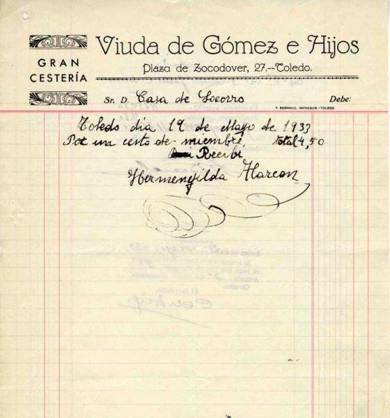1933 Cestería de la viuda de Gómez e hijos