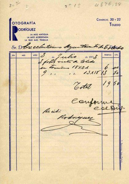 1933 Fotografía Rodríguez