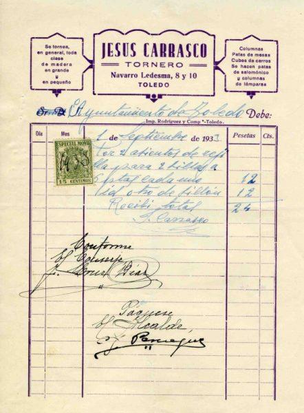 1933 Tornero Jesús Carrasco