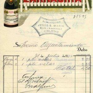 9 - Los toledanos durante la II República a través de sus facturas