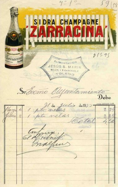 9 – Los toledanos durante la II República a través de sus facturas