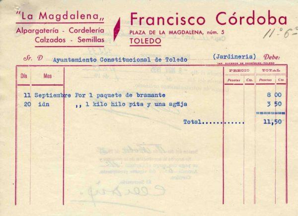 1935 Alpargatería de Francisco Córdoba II