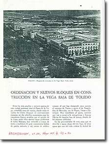 ORDENACIÓN Y NUEVOS BLOQUES EN CONSTRUCCIÓN EN LA VEGA BAJA DE TOLEDO - Luis García Vallejo - 1951-110