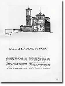 IGLESIA DE SAN MIGUEL DE TOLEDO - F. E - 1952-114