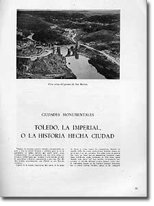 TOLEDO, LA IMPERIAL, O LA HISTORIA HECHA CIUDAD - Ángel Dotor - 1954-124
