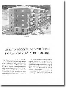 QUINTO BLOQUE DE VIVIENDAS EN LA VEGA BAJA - - 1956-131