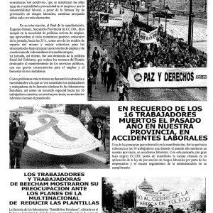 1999_La Hoja Sindical de CCOO de Toledo de mayo de 1999