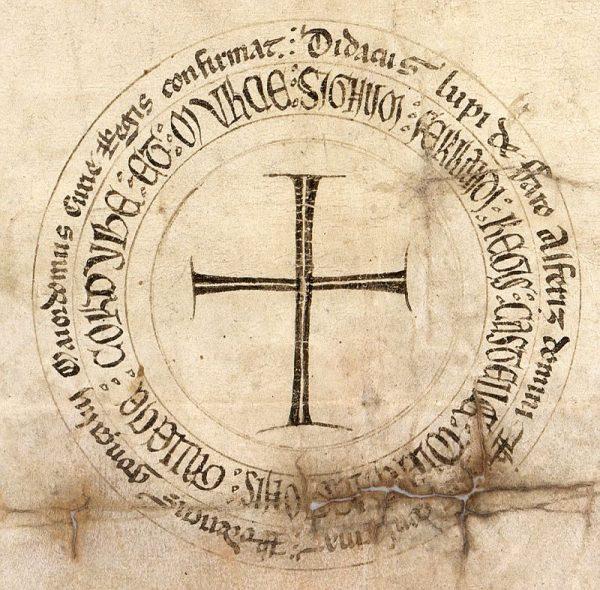 21 04-01-1246 Signo de Fernando III