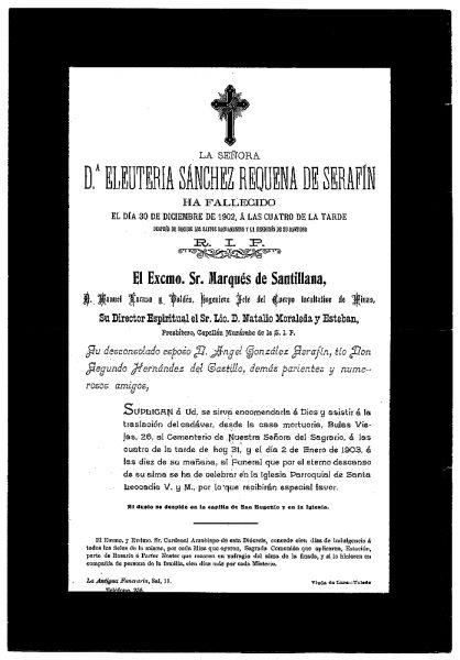 21 30-12-1902 Eleuteria Sánchez Requena de Serafín