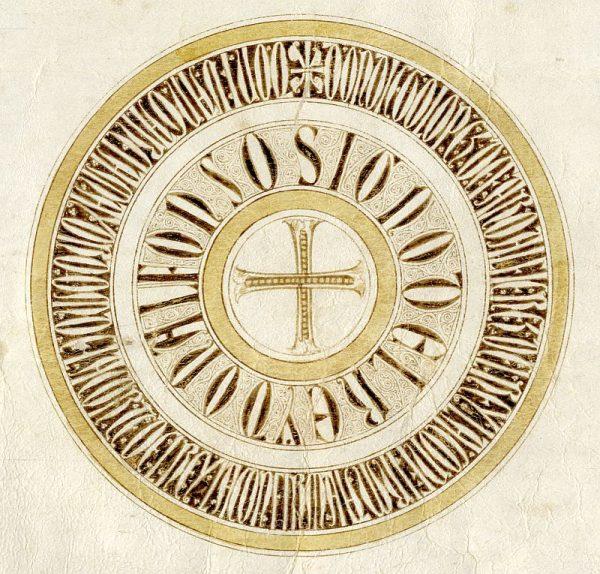 23 10-03-1254 Signo de Alfonso X
