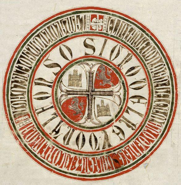 24 06-02-1260 Signo de Alfonso X