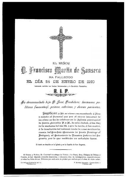 25 24-01-1910 Francisco Martín de Sonseca