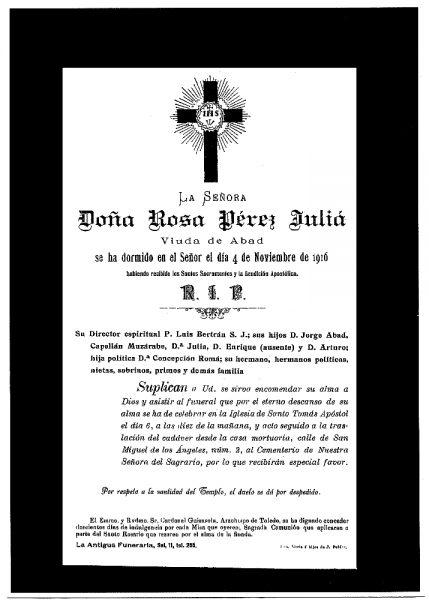 29 04-11-1916 Rosa Pérez Juliá