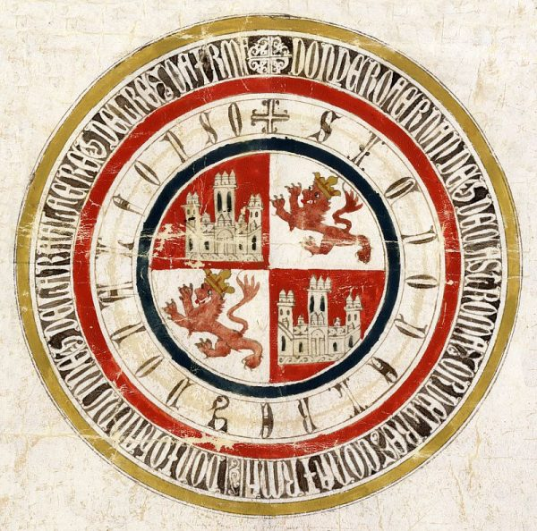 32 12-03-1333 Signo de Alfonso XI