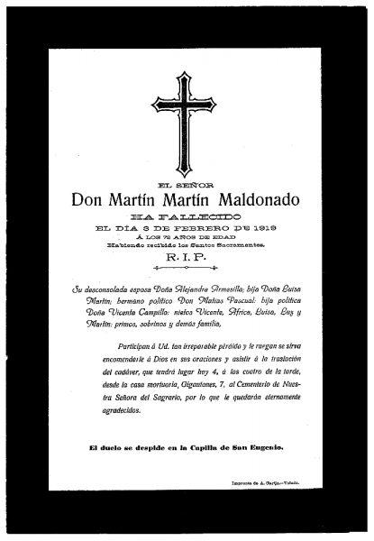33 03-02-1919 Martín Martín Maldonado