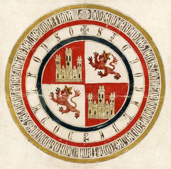 36 17-03-1333 Signo de Alfonso XI