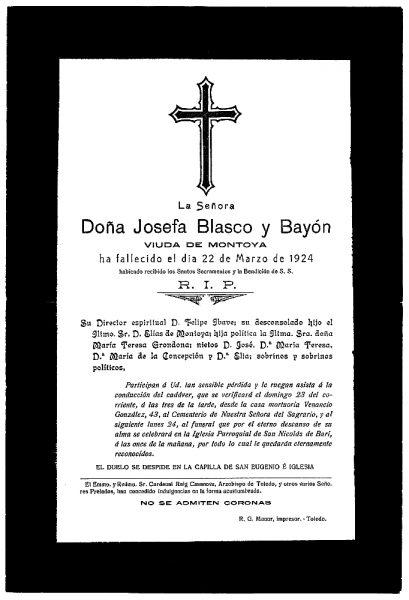 42 22-03-1924 Josefa Blasco y Bayón