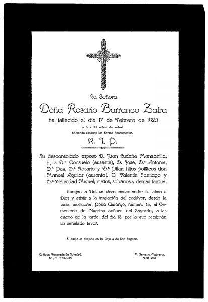 43 17-02-1925 Rosario Barranco Zafra