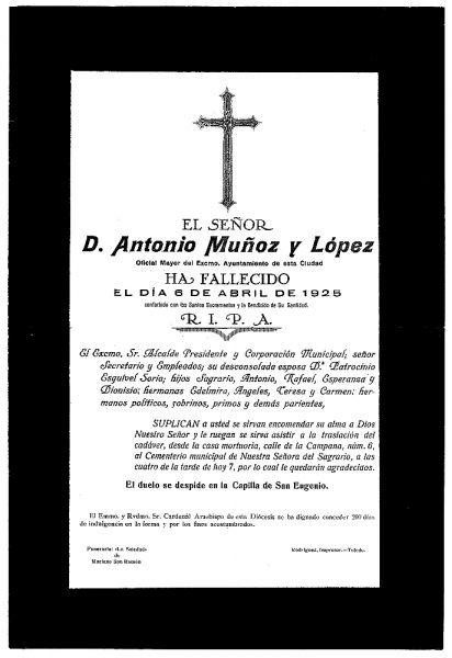 44 06-04-1925 Antonio Muñoz y López