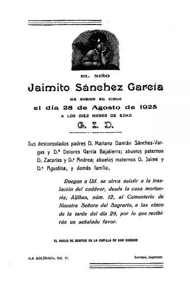 45 28-08-1925 Jaimito Sánchez García
