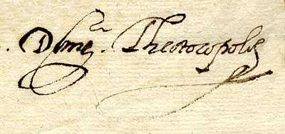 6 de noviembre de 1587