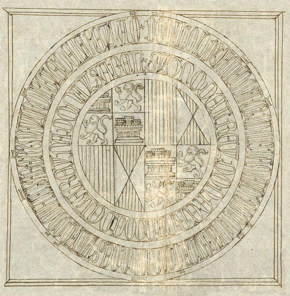 61 20-07-1480 Signo de los Reyes Católicos