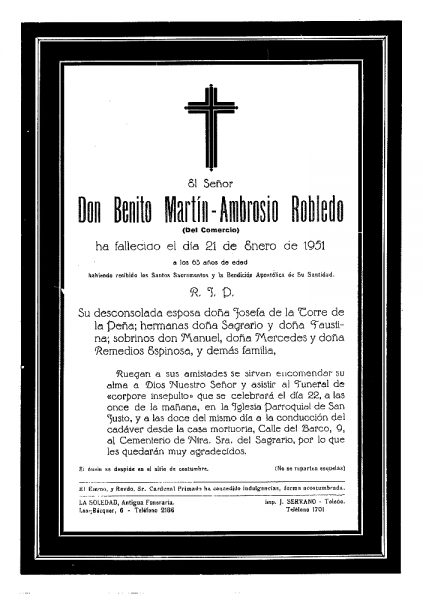 61 21-01-1951 Benito Martín