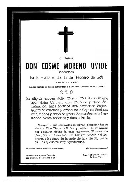 62 18-02-1951 Cosme Moreno Uvide