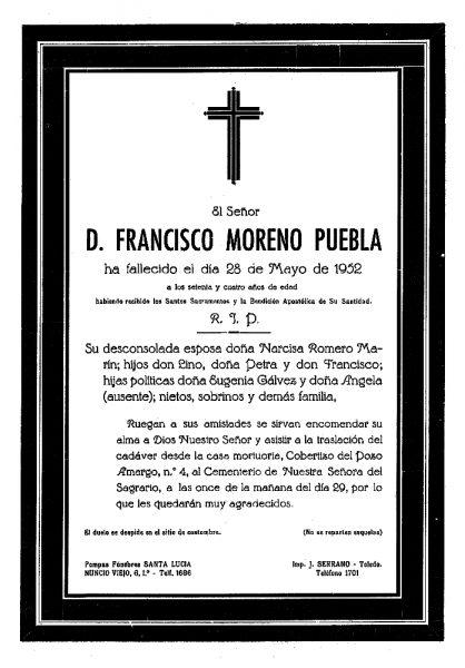 63 28-05-1952 Francisco Moreno Puebla