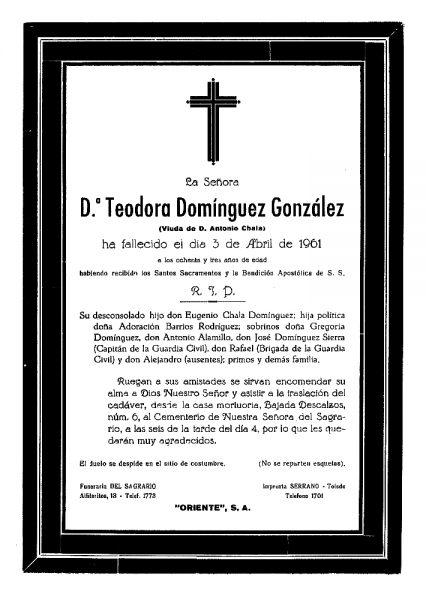 69 03-04-1961 Teodora Domínguez González