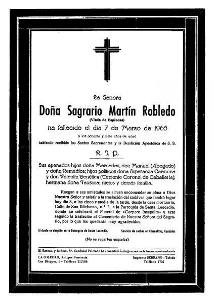 72 07-03-1965 Sagrario Martín Robledo