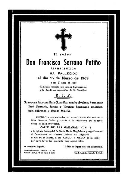 75 13-03-1969 Francisco Serrano Patiño