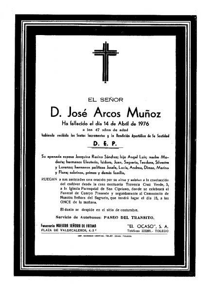 81 14-04-1976 José Arcos Muñoz