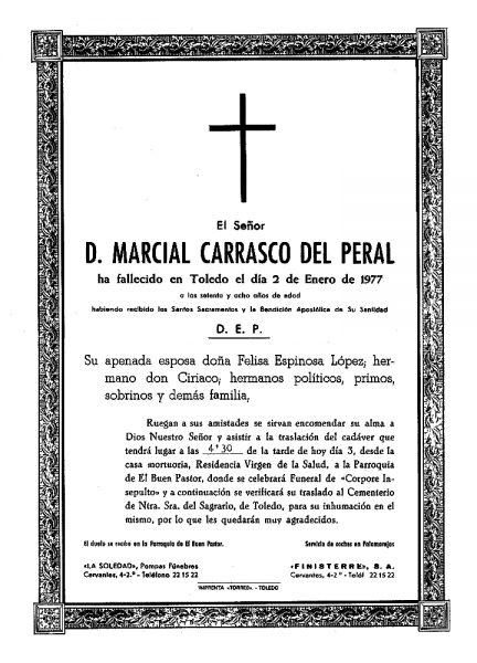 82 02-01-1977 Marcial Carrasco del Peral