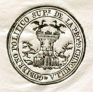 ALBACETE - Gobierno político superior de la provincia de Chinchilla - Año 1823