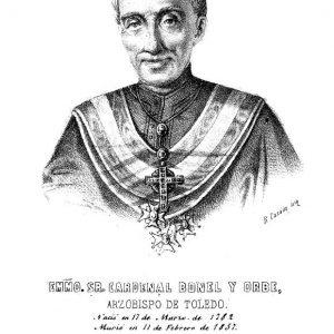 Año 1858. Oración fúnebre por Juan José Bonel y Orbe, arzobispo de Toledo